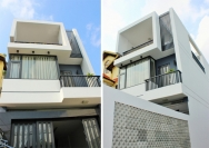 Ngôi nhà 2 tầng cho người ngại leo cao