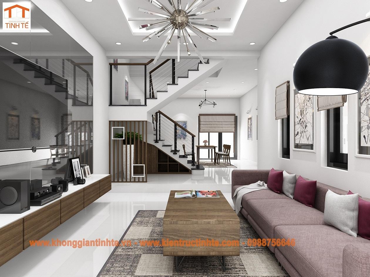 Cải tạo nội thất nhà ở lô phố- TP Hải Phòng