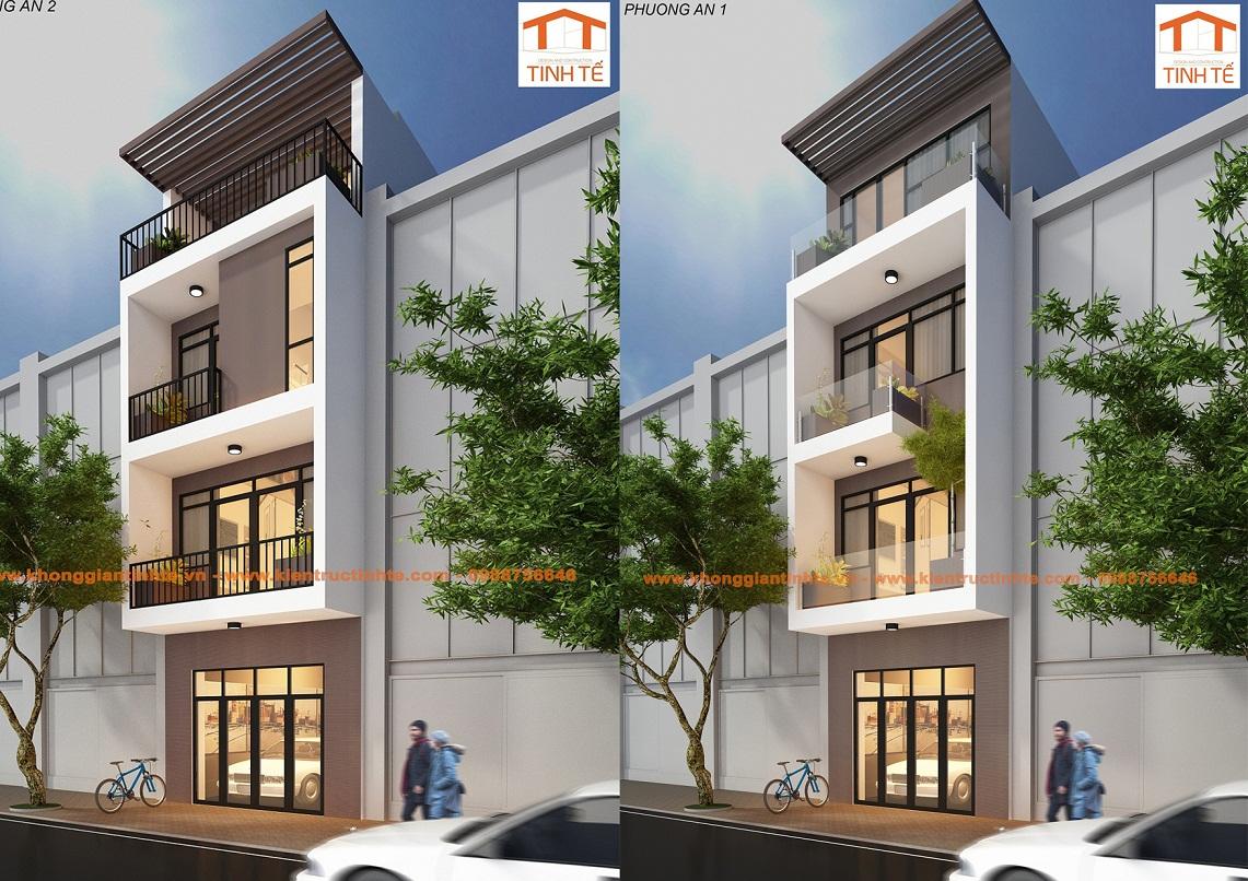 Kiến trúc, nội thất nhà ở liền kề khu đô thị mới, TP Hải Phòng