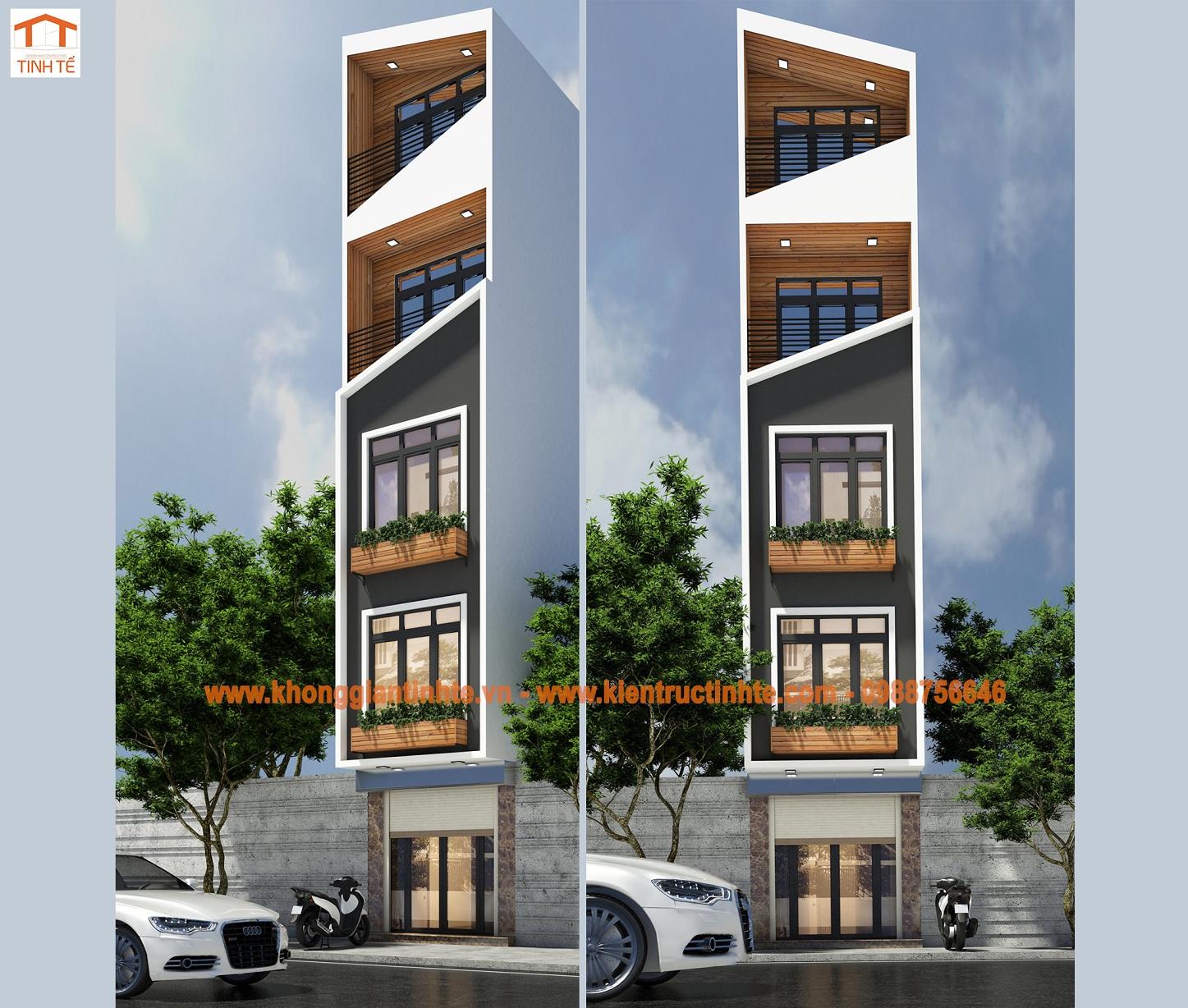 Nhà ở lô phố 36m2 x 5 tầng, Hoàn Kiếm, Hà Nội