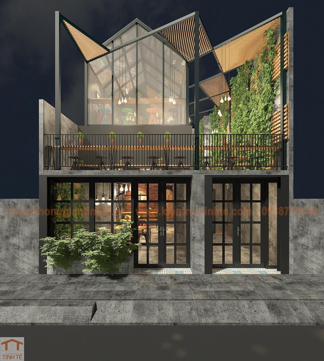 Quán coffe 60m2 x 2 tầng, Thanh Xuân, HN