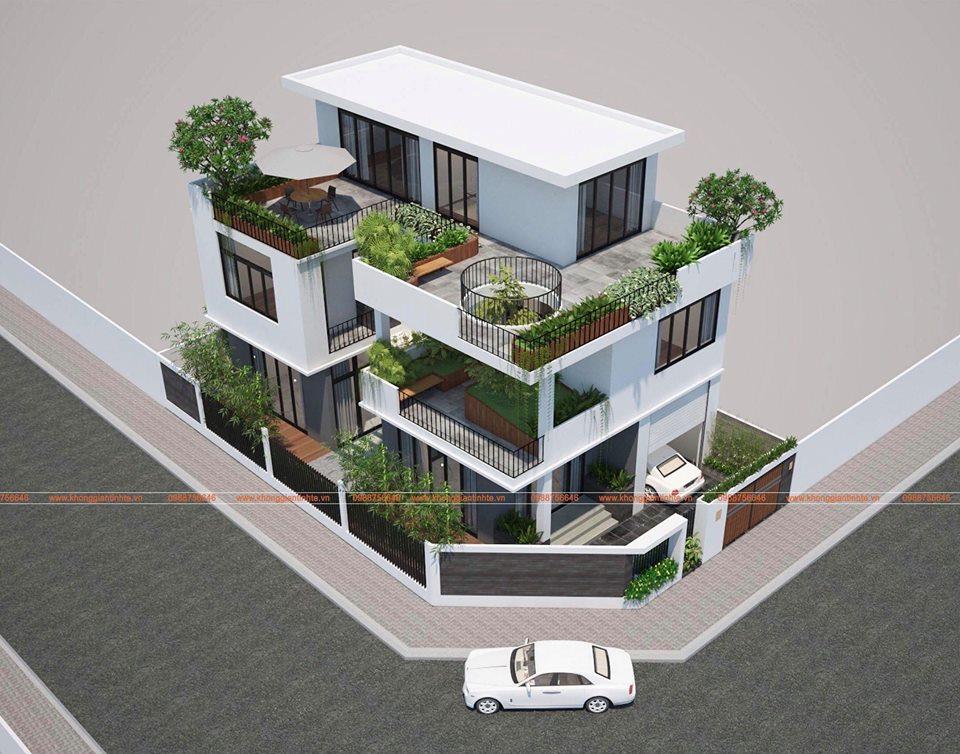 Biệt thự liền kề 130m2 x 3 tầng, Việt Trì, Phú Thọ