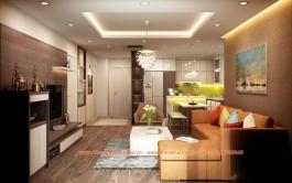 Thiết kế - Thi công căn hộ 120m2 Chung cư No4 - Trung Hòa - Hà Nội