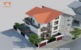 Thiết kế kiến trúc nội thất Biệt thự khu đô thị Ngôi nhà mới- Hà Nội