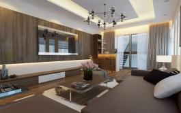 Nội thất nhà ở liền kề 65m2 x 4 tầng, Giải Phóng, Hà Nội