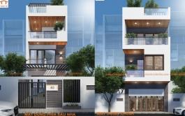 Nhà lô phố 3 tầng, 5m x 16m, 2 mặt tiền, TP Nam Định