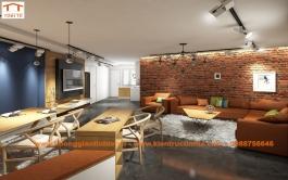 Thiết kế nội thất căn hộ chung cư 75m2, Thạch Bàn, Long Biên, Hà Nội