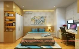 Thiết kế - Thi công căn hộ 130m2 Chung cư Hà Đô Parkview - Hà Nội
