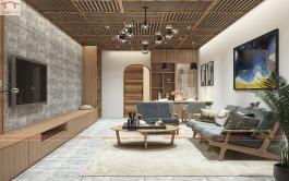 Cải tạo nhà nhỏ ngoại thành Hà Nội lột xác thành ngôi nhà có nội thất mới lạ