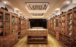 Showroom trưng bày sản phẩm trang trí từ Ngọc cao cấp, Long Biên, HN
