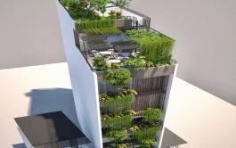 Tòa nhà hỗn hợp, 200m2 x 7 tầng, Khương Đình, Hà Nội