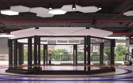 Thiết kế không gian phòng tập IFS' Fitnees Boxing 800m2