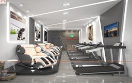 Thiết kế Showroom thể thao Tài Phát sport